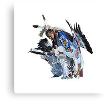 American Indian Dancer Canvas Print