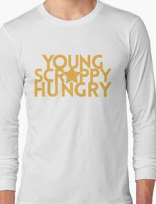 Musical T-shirt - Young Scrappy Hungry  Long Sleeve T-Shirt