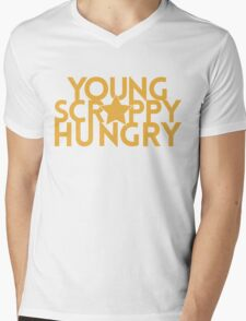 Musical T-shirt - Young Scrappy Hungry  Mens V-Neck T-Shirt