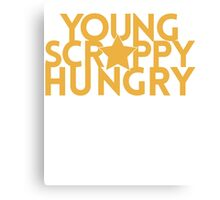 Musical T-shirt - Young Scrappy Hungry  Canvas Print