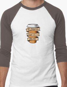Take Coffee Men's Baseball ¾ T-Shirt