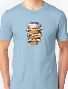 Take Coffee Unisex T-Shirt