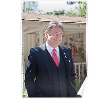 Alan Titchmarsh at RHS Chelsea Flower Show Poster