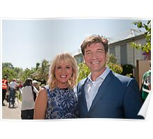 Nick Knowles at RHS Chelsea Flower Show  Poster