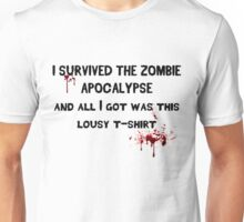 Zombie Shirt Unisex T-Shirt