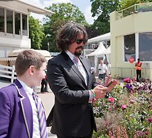 Laurence Llewelyn-Bowen at RHS Chelsea Flower Show by Keith Larby