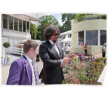 Laurence Llewelyn-Bowen at RHS Chelsea Flower Show Poster
