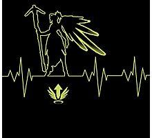 Heartbeat Mercy Photographic Print