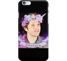 Save Unicorns (black ver.) iPhone Case/Skin