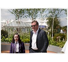 Piers Morgan at RHS Chelsea Flower Show Poster
