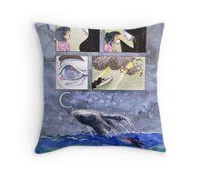 Comic Page Pillow Throw Pillow