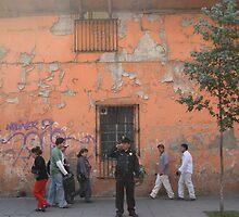 Traffic Cop, Mexico City by JCMM