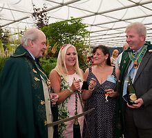 Vanessa Feltz at RHS Chelsea Flower Show by Keith Larby