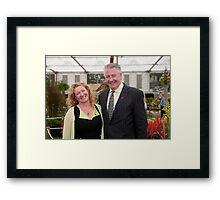 Charlie Dimmock at RHS Chelsea Flower Show Framed Print