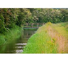 Bridge at the Fen Photographic Print
