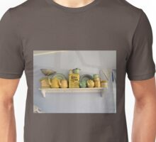 Teapots and Friends on a Shelf Unisex T-Shirt