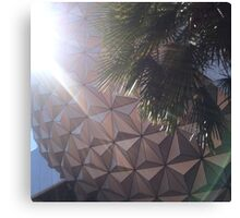 Disney Epcot Canvas Print