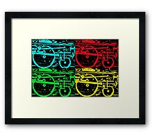 Pop Art Steam Framed Print
