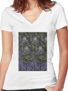 Dune Fremen  Women's Fitted V-Neck T-Shirt