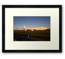 747 Jumbo Framed Print
