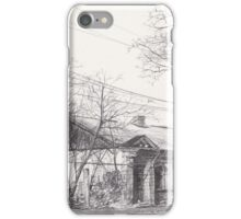 Hand drawn historical architecture iPhone Case/Skin