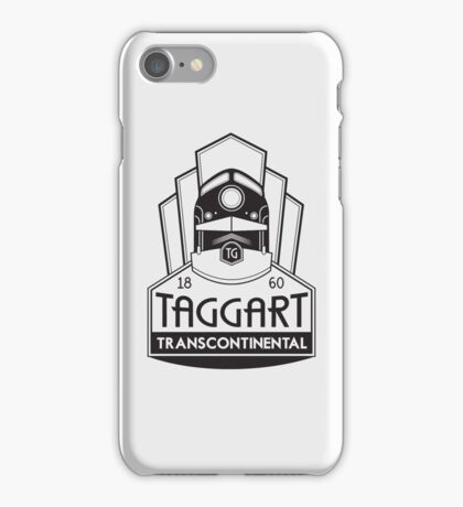 Taggart Transcontinental iPhone Case/Skin