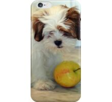 Puppy Loves The Apple II iPhone Case/Skin