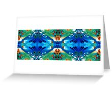 Grace - Colorful Art by Sharon Cummings Greeting Card