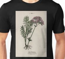 Wayside and woodland blossoms a pocket guide to British wild flowers for the country rambler  by Edward Step 1895 104 Cat's Valerian Unisex T-Shirt