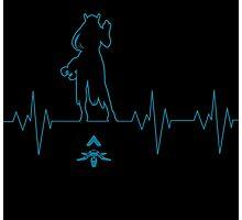 Heartbeat Symmetra Photographic Print
