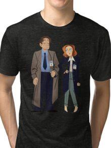 Fox and Dana Tri-blend T-Shirt