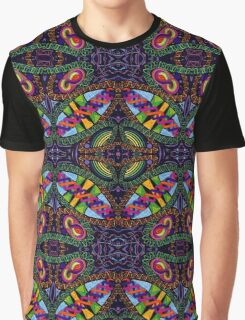 Psychedelic Colourful Abstract Work 85 Graphic T-Shirt