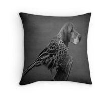 (✿◠‿◠) HE'S A BIRD DOG -- CREATIVE THROW PILLOW-BY RAPTURE777(✿◠‿◠) Throw Pillow