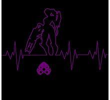 Heartbeat Widowmaker Photographic Print