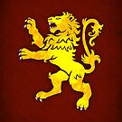 House Lannister  Minimalist by Digital Phoenix Design