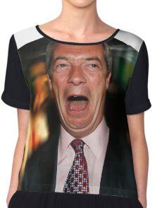 Nigel Farage Chiffon Top