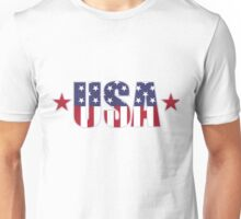 USA Flag Patriotic T-Shirt Unisex T-Shirt