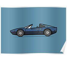 Ferrari 308 GTS Poster