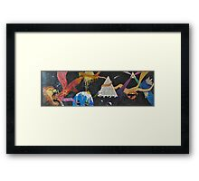 Psychedelic Adventure Framed Print