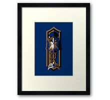 Wise, Creative and Witty Framed Print
