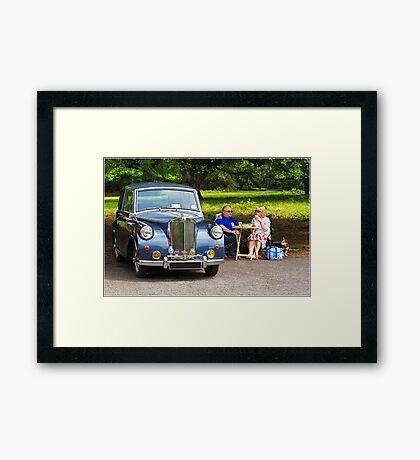 Classic Car at Lytham Hall Framed Print