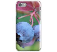 Blueberries. iPhone Case/Skin