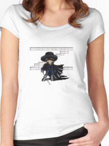 16 Bit Zorro Women's Fitted Scoop T-Shirt