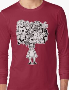 Oh show me the way to sandy shores! Long Sleeve T-Shirt