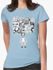Oh show me the way to sandy shores! Womens Fitted T-Shirt