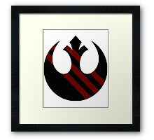 Rebel Alliance Emblem Framed Print