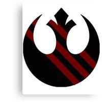 Rebel Alliance Emblem Canvas Print