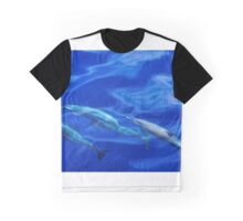 Striped Dolphins of the Caribbean Island of Dominica (2) Graphic T-Shirt