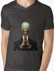 The Slanderman Mens V-Neck T-Shirt