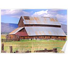 At The Farm Poster